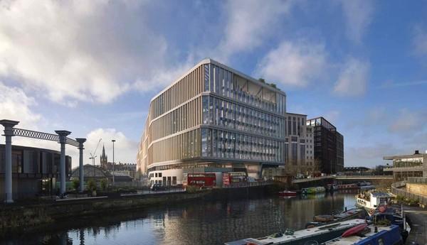 Google показал концепт своей новой штаб-квартиры в Лондоне