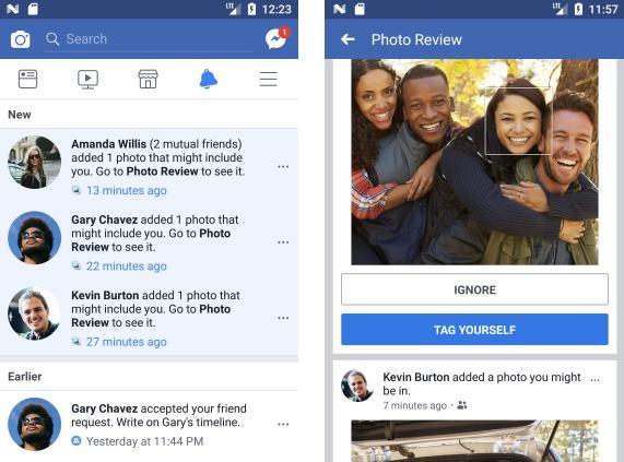 Facebook расскажет пользователям о публикациях фото с изображением их лиц