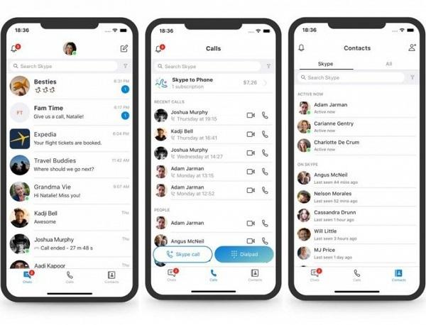 В Microsoft признали новый дизайн Skype и начали работу над ошибками