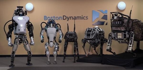Boston Dynamics работает над роботом на колесах