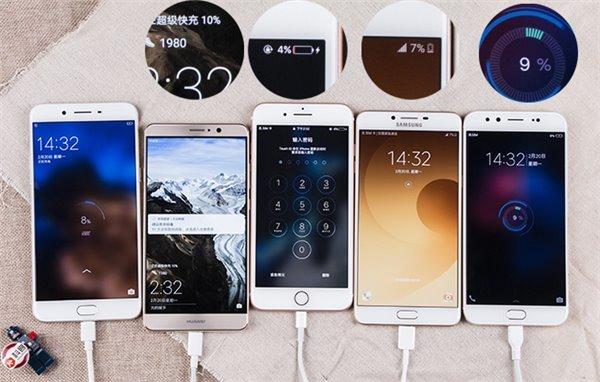 iPhone 7 Plus занял последние место в тесте скорости зарядки среди популярных смартфонов