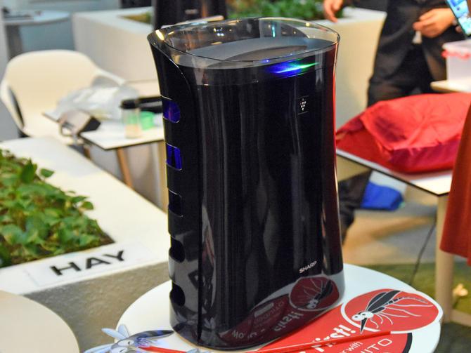 Компания Sharp разработала очиститель воздуха, истребляющий комаров