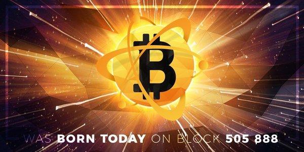 От Bitcoin откололась еще одна криптовалюта - Bitcoin Atom