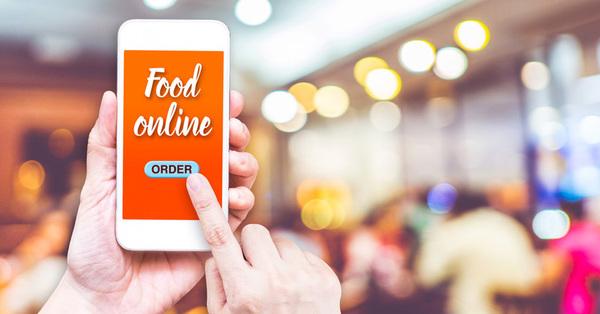 Украинцы все чаще заказывают еду онлайн