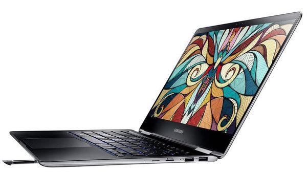 Samsung представил новый флагманский ноутбук