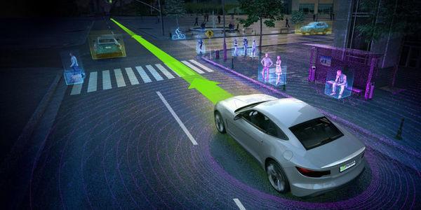 Nvidia представила компьютер с искусственным интеллектом для роботакси