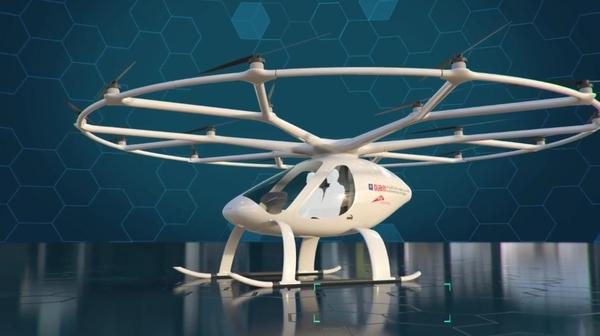 В Дубае заработал сервис аэротакси из беспилотных коптеров