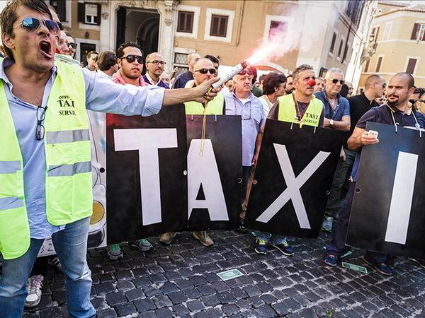 В Италии запретили Uber