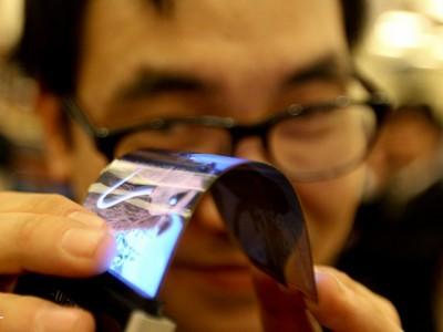 Samsung создаст самосгибающийся дисплей