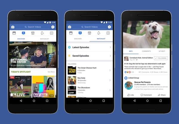 Facebook запускает свой аналог YouTube