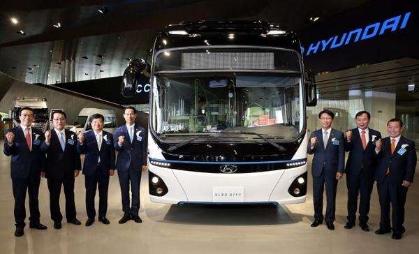 Hyundai представила собственный электроавтобус
