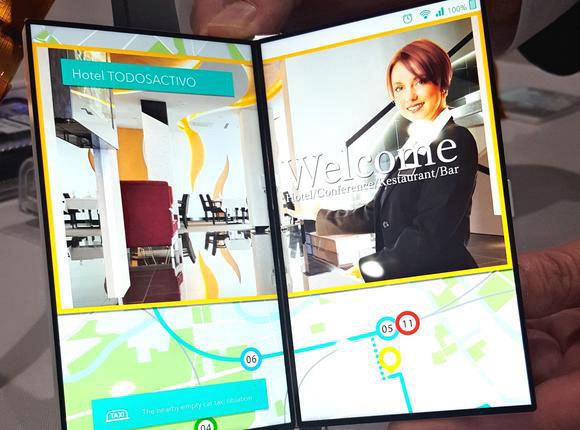 Japan Display представил складной дисплей для смартфонов