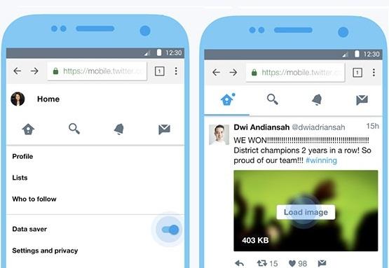 Twitter выпустил Lite-версию основного приложения с режимом экономии веб-трафика