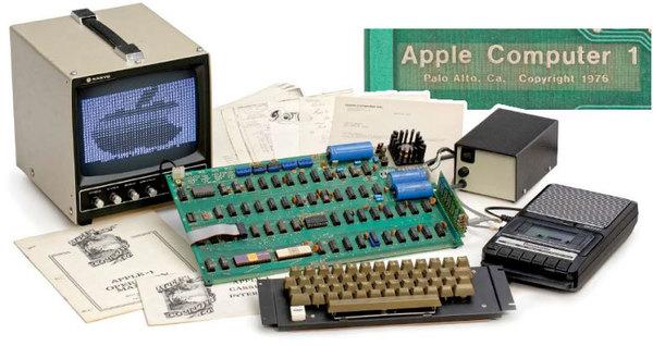 Один из первых компьютеров Apple выставили на аукционе за $320 тысяч