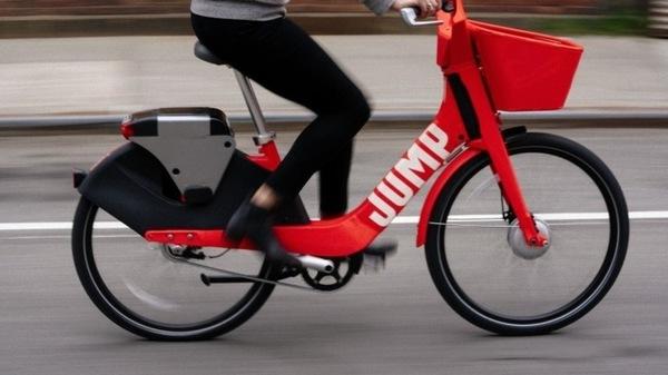 Uber купила сервис для проката электрических велосипедов Jump Bikes