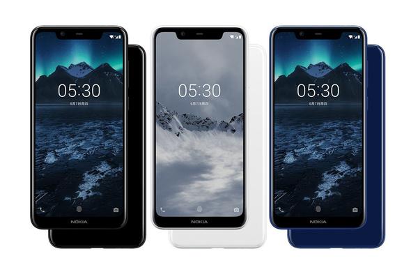 Представлен бюджетный Nokia X5 с современным дизайном