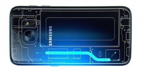 Samsung раскрыл секрет системы охлаждения Galaxy S7