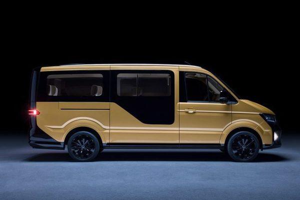 Volkswagen представил самоуправляемый электробус