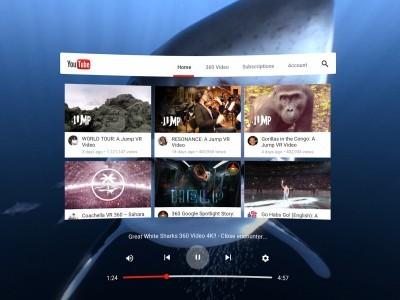 Google выпускает приложение YouTube для виртуальной реальности