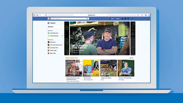 Facebook откроет собственный видеосервис Watch для всех пользователей