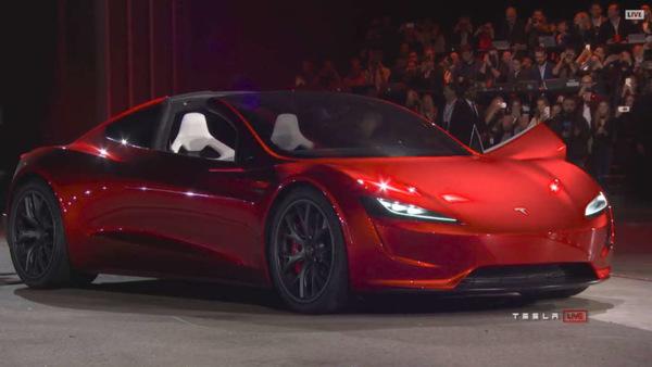Илон Маск рассказал о ракетных технологиях в новом Tesla Roadster