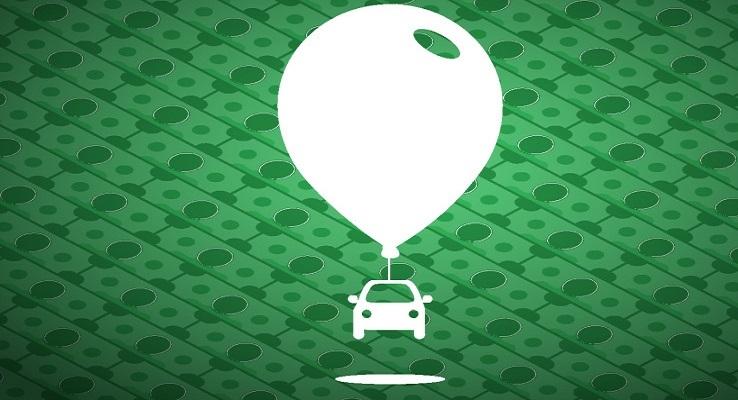 Сервис онлайн-заказа такси Lyft привлек $530 млн инвестиций