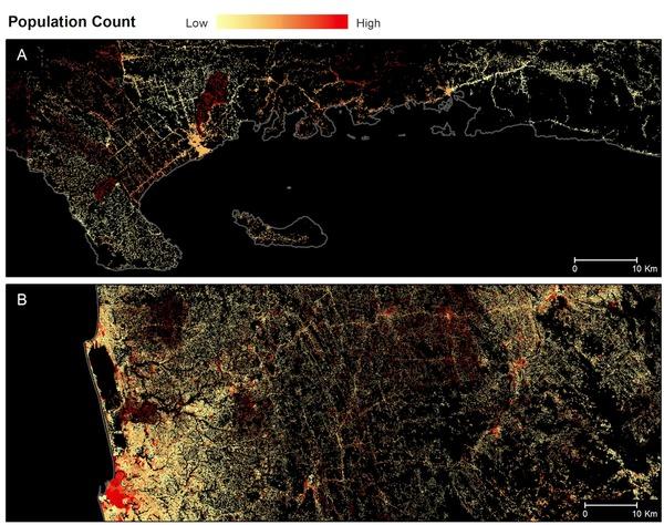 Facebook составляет карты расселения людей по странам для обеспечения интернетом большего числа граждан