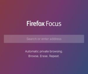 Mozilla представила iOS-браузер Focus