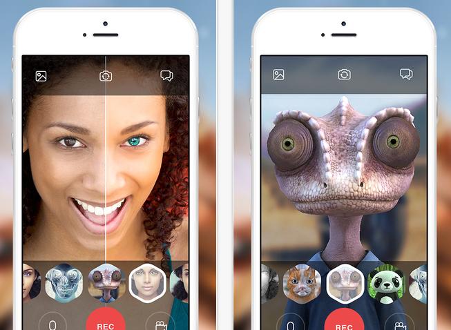 Looksery от украинских разработчиков позволит менять внешность для фото и видеочата
