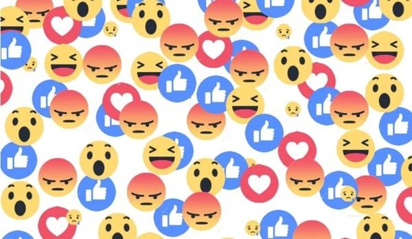 Facebook позволил пользователям оценивать комментарии при помощи «реакций»