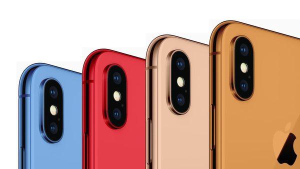 Новые iPhone получат целый ряд необычных цветовых вариантов