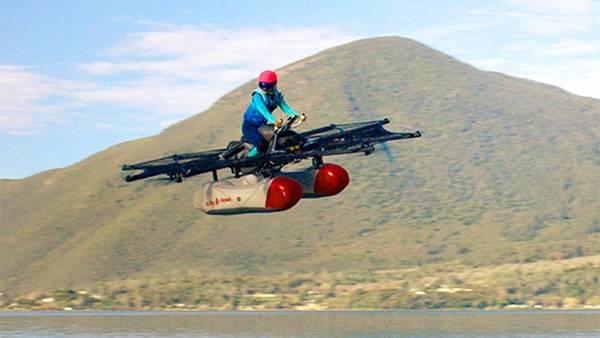 Стартап сооснователя Google Ларри Пейджа показал прототип «летающего автомобиля»