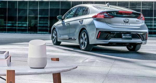 Автомобилями Hyundai можно будет управлять с помощью Google Assistant