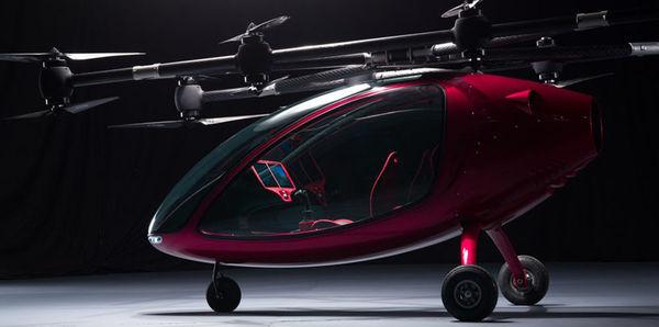 В Европе протестировали летающее такси Passenger Drone