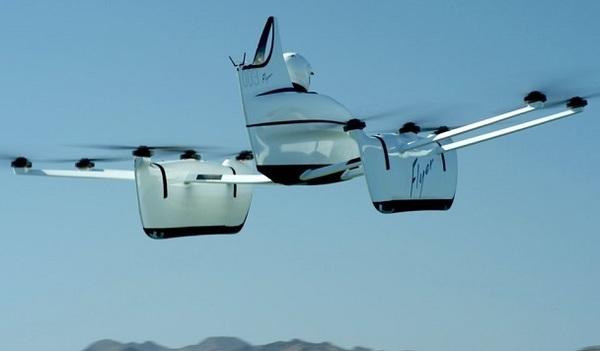 Стартап сооснователя Google Ларри Пейджа показал на видео полет нового пассажирского дрона