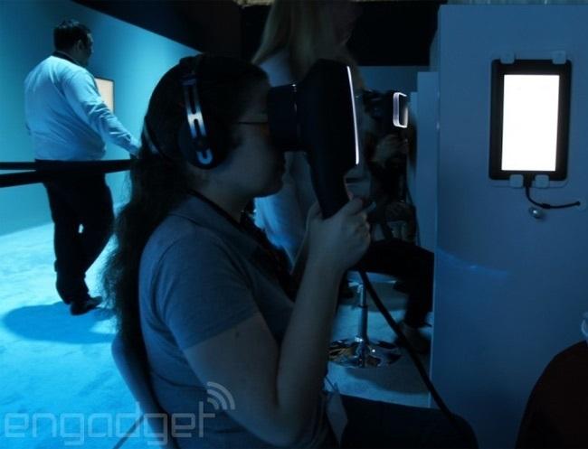 Canon продемонстрировала свой прототип устройства виртуальной реальности (ФОТО)