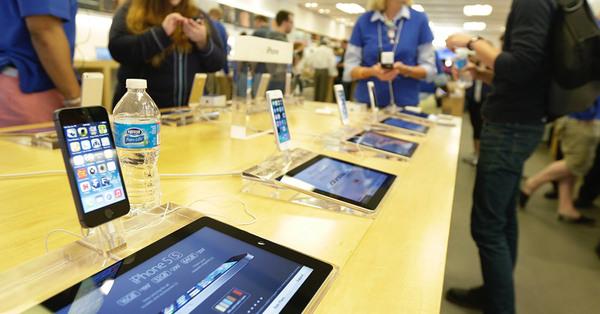 В одном из магазинов Apple взорвался iPad