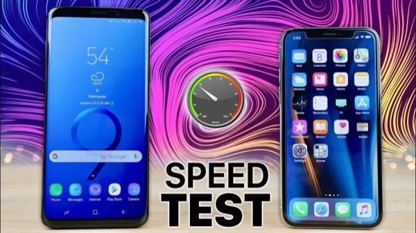Скорость Galaxy S9 и iPhone X сравнили специалисты