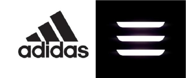 Tesla пришлось убрать три полоски с логотипа Model 3 после претензий Adidas