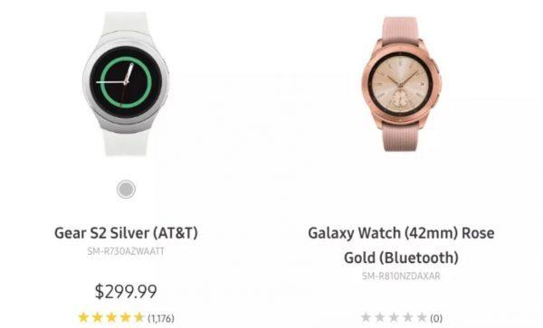 Samsung раскрыла внешний вид Galaxy Watch