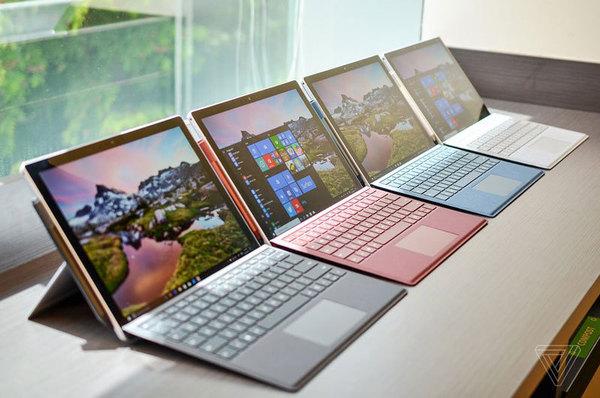 Microsoft представил новый планшет Surface Pro