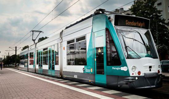 Германия тестирует первый беспилотный трамвай