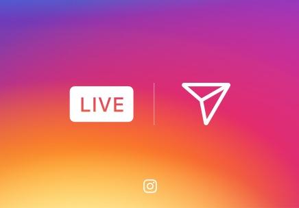 Instagram внедрил возможность прямых трансляций