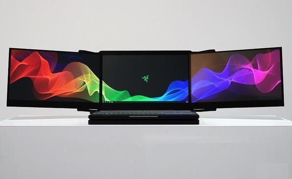 У Razer украли прототип трехэкранного ноутбука прямо с выставки