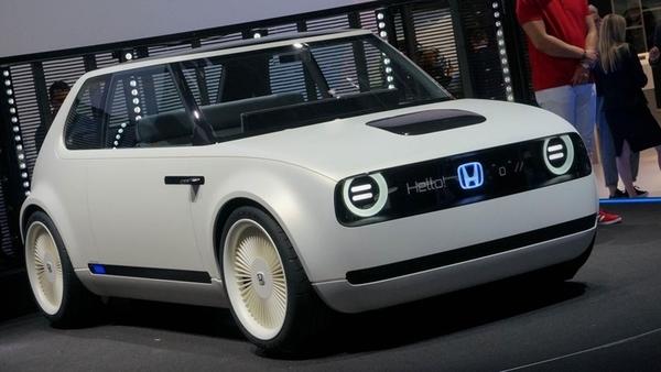 Honda выпустит электрокар в ретро-стиле Urban EV в 2019 году