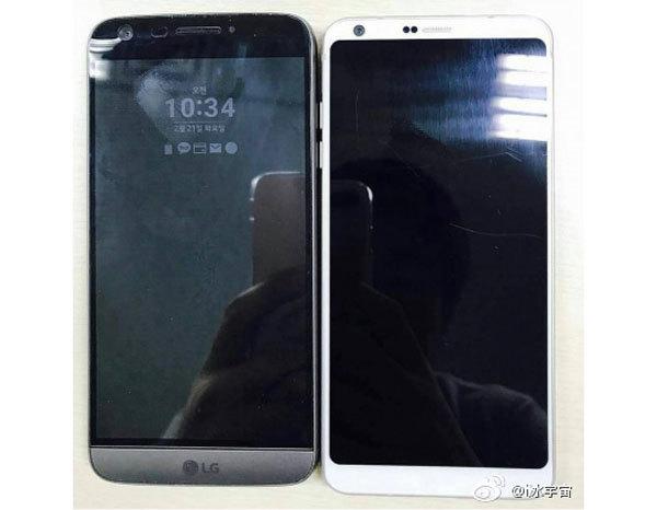 Флагман LG G6 засветился на фото рядом с предшественником LG G5