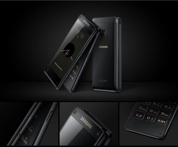 Samsung представила раскладушку с двумя дисплеями