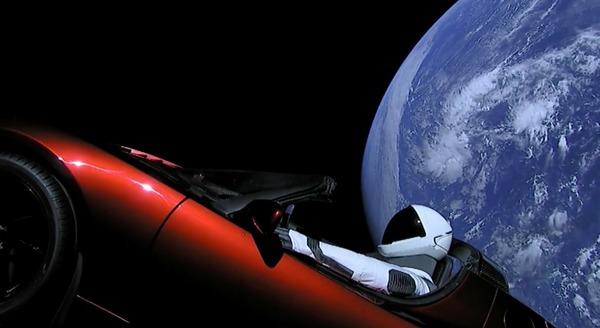 Отправленная в космос Tesla может упасть на Землю