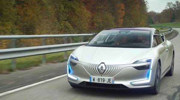 Renault показал рабочий прототип электромобиля будущего