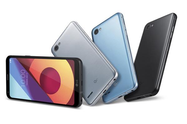 LG представила «безрамочный» смартфон с функцией распознавания лиц